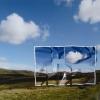Tourist, Plexiglass, Aluminum, photograph, 90x120cm, 2007